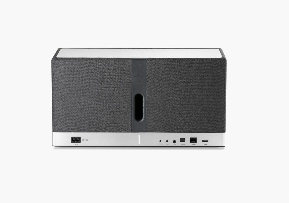 Enceinte connectée bluetooth wifi hifi triangle AIO3 gris ardoise