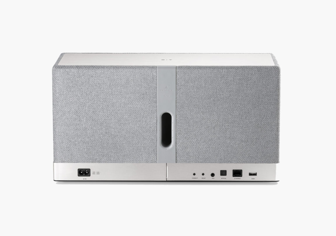 Enceinte connectée bluetooth wifi hifi triangle AIO3 gris packshot 02