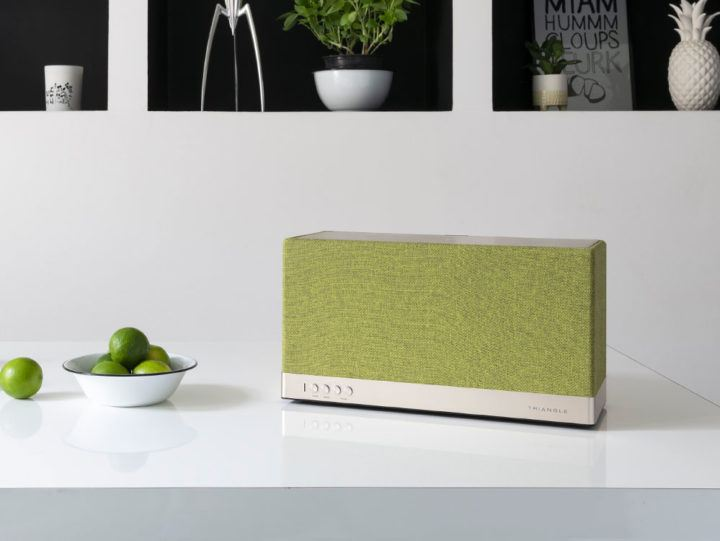 Enceinte connectée bluetooth wifi hifi triangle AIO3 lifestyle
