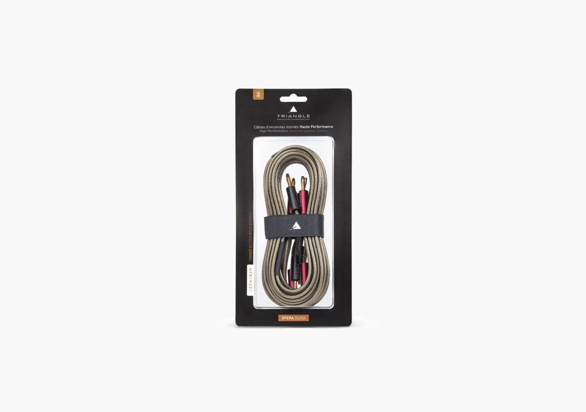 cable enceinte hifi triangle opera OSC25 packshot 04