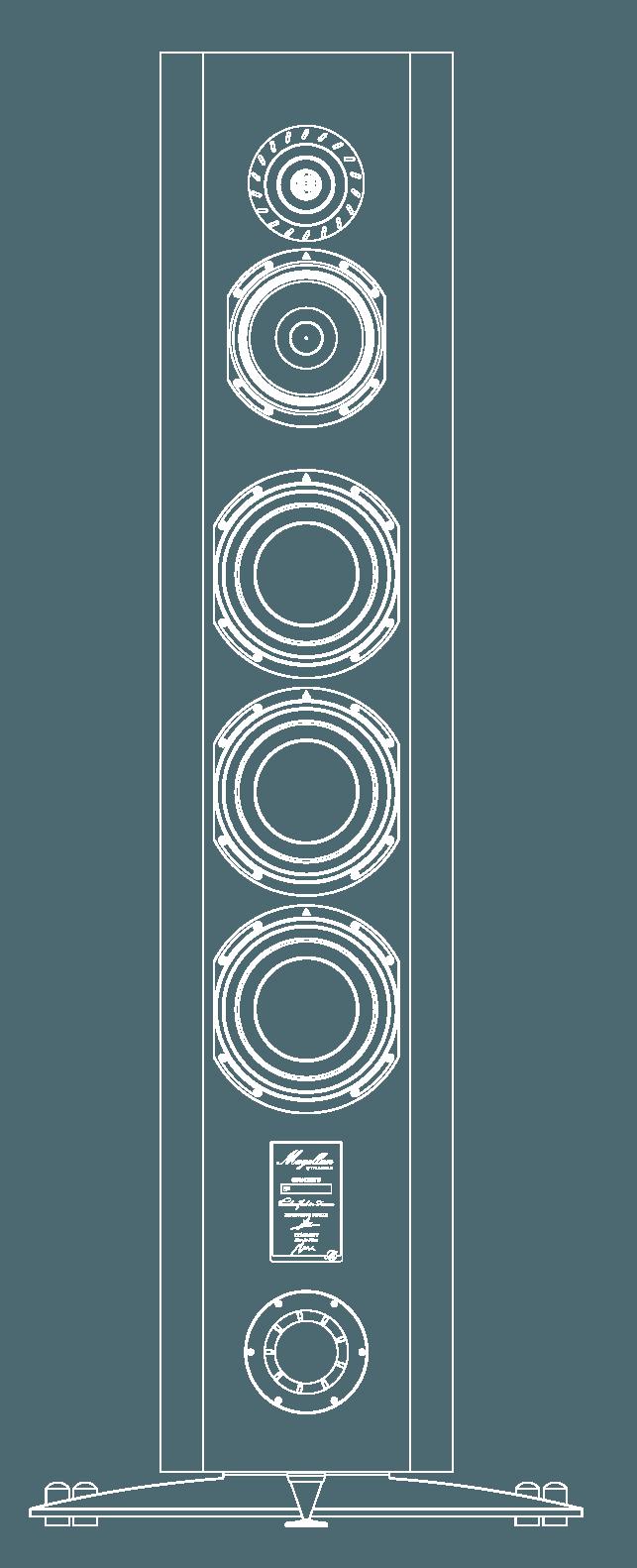 enceinte hifi bibliotheque triangle magellan concerto vector 2