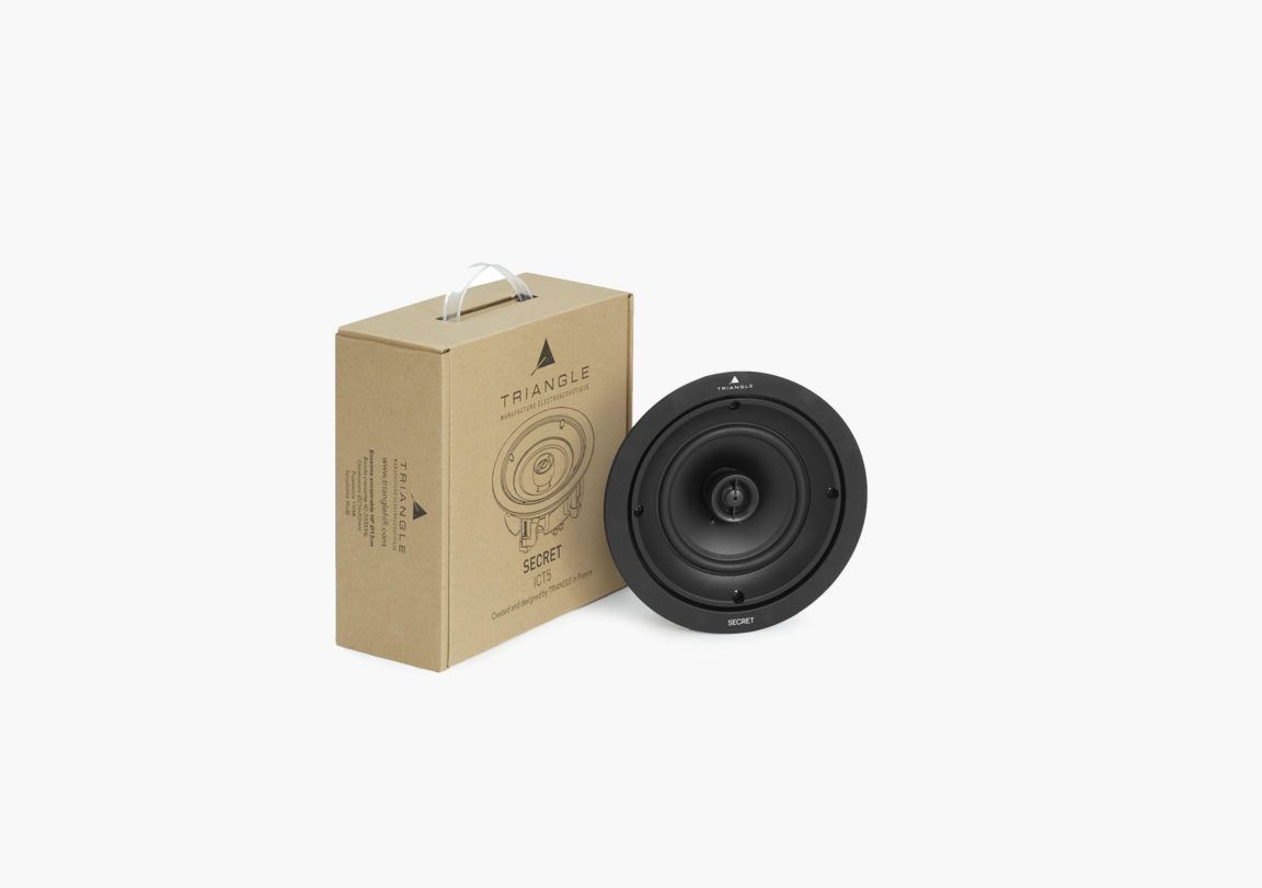 enceinte hifi encastrable circulaire triangle secret ict5 packshot 06