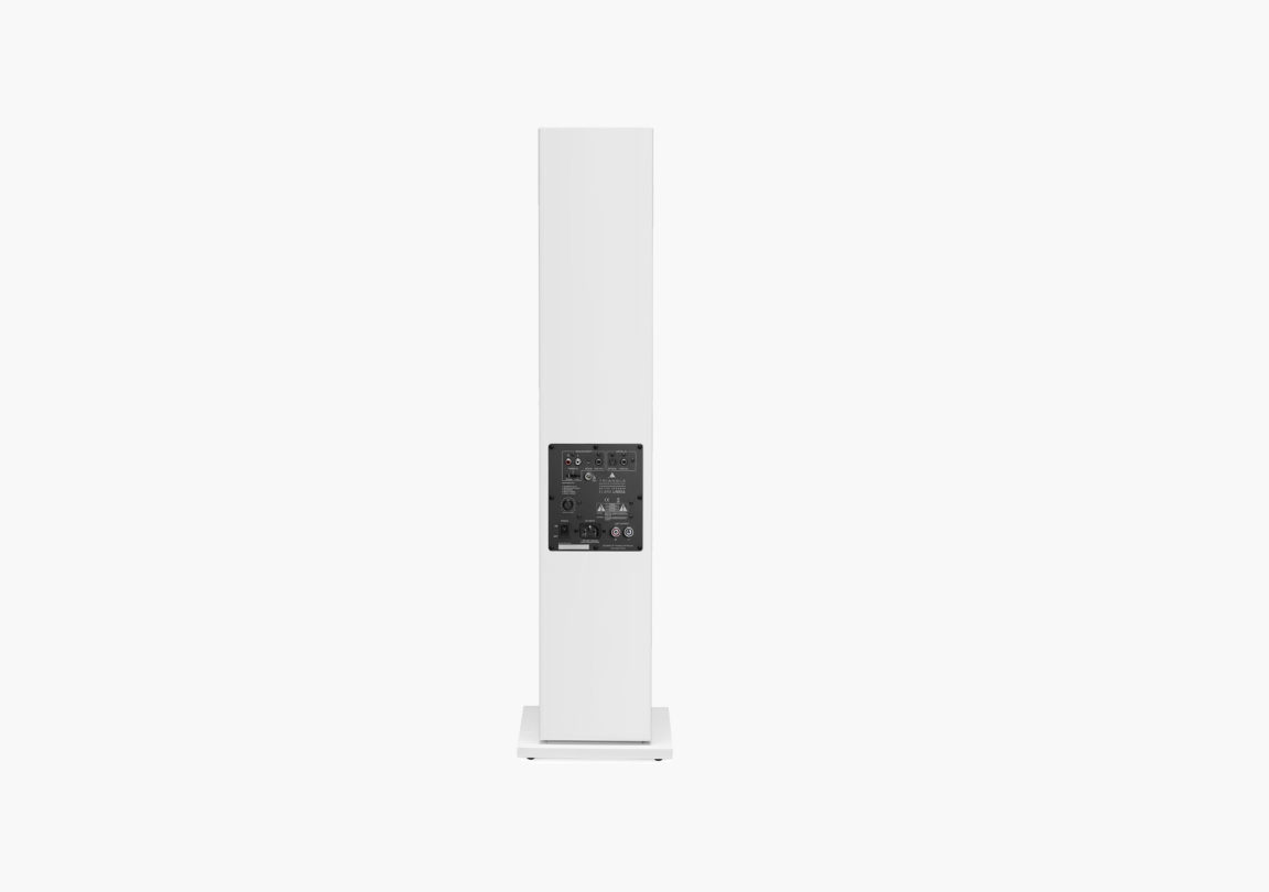 enceinte connectée hifi colonne triangle active series ln05A blanc packshot 01