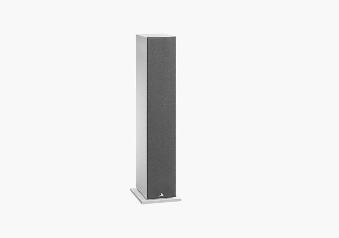 enceinte connectée hifi colonne triangle active series ln05A blanc packshot 03