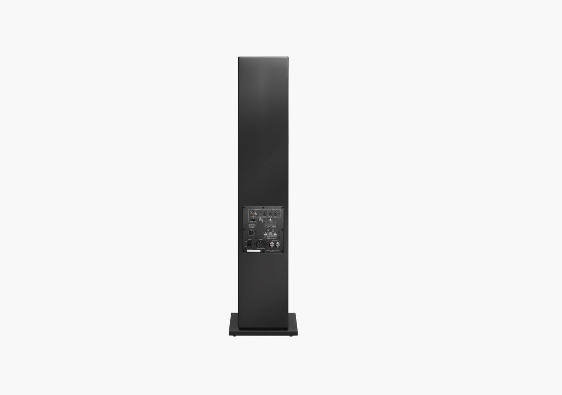 enceinte connectée hifi colonne triangle active series ln05A noir packshot 03