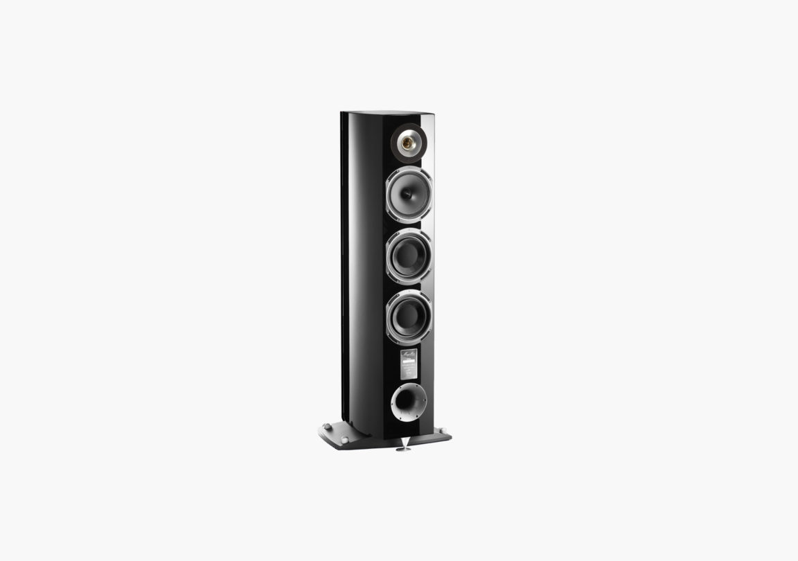Enceinte hifi Colonne triangle Magellan Cello noir packshot 02