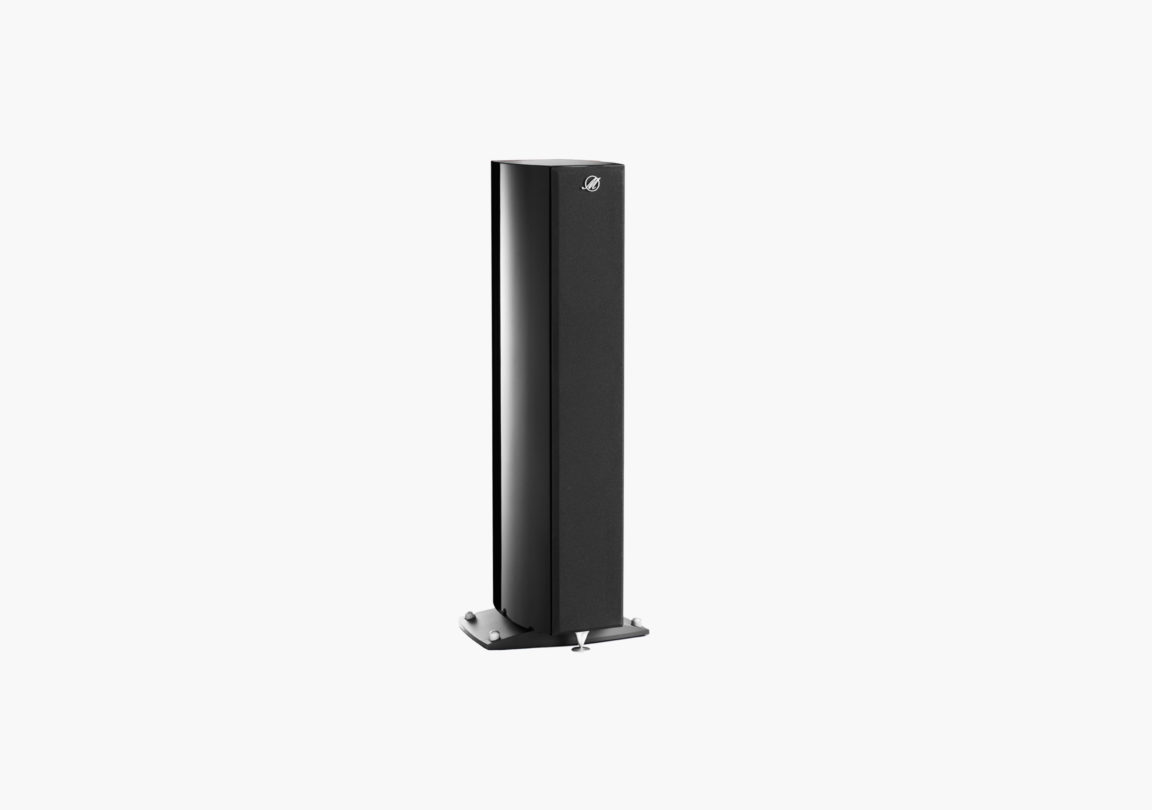 Enceinte hifi Colonne triangle Magellan Cello noir packshot 01