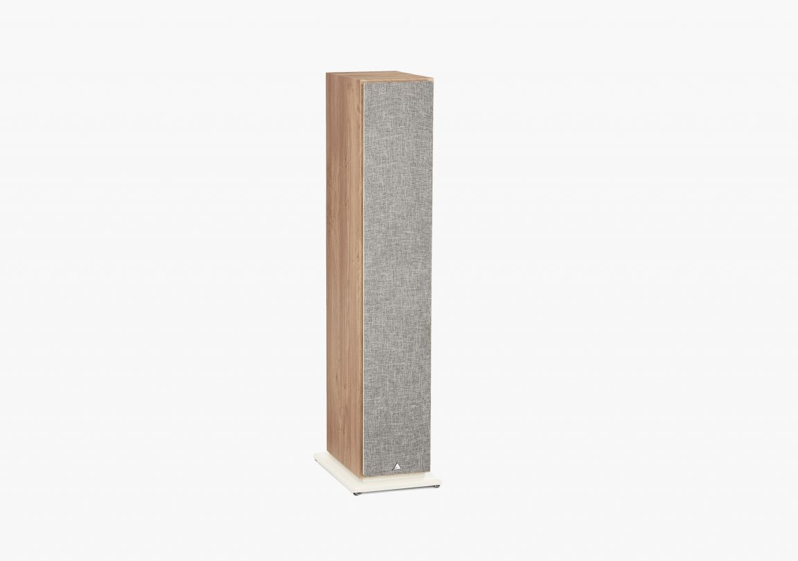 Enceinte hifi Colonne triangle Borea BR09 light oak packshot 03