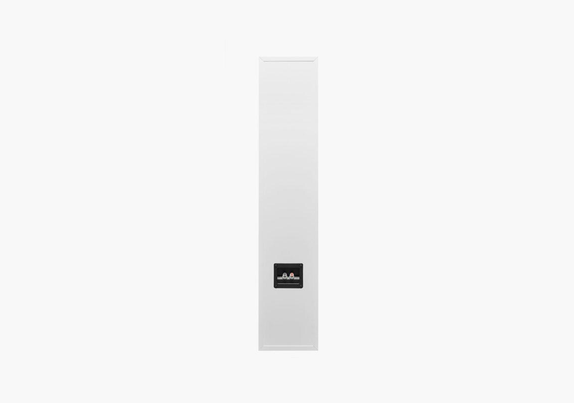 Enceinte hifi colonne triangle plaisir kari blanc packshot 04