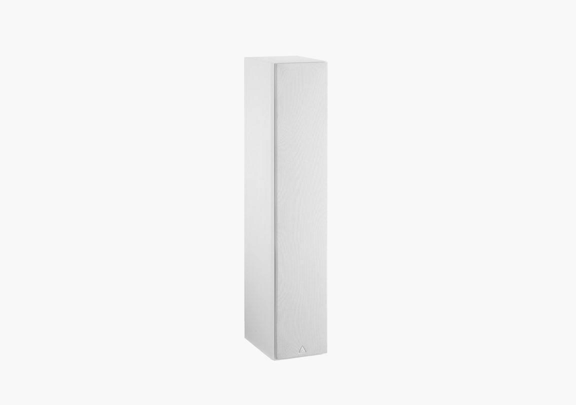 Enceinte hifi colonne triangle plaisir kari blanc packshot 02
