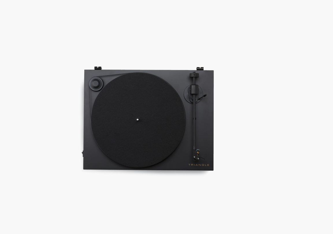 platine vinyle hifi triangle active series ln01A noir packshot 03