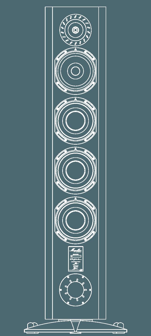 enceinte hifi bibliotheque triangle magellan quatuor vector