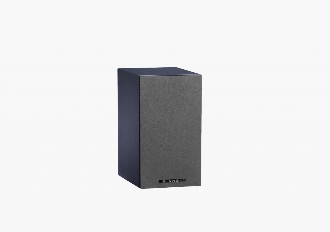 enceinte connectée hifi bibliothèque platine vinyle triangle active series ln01A bleu abysse packshot 03