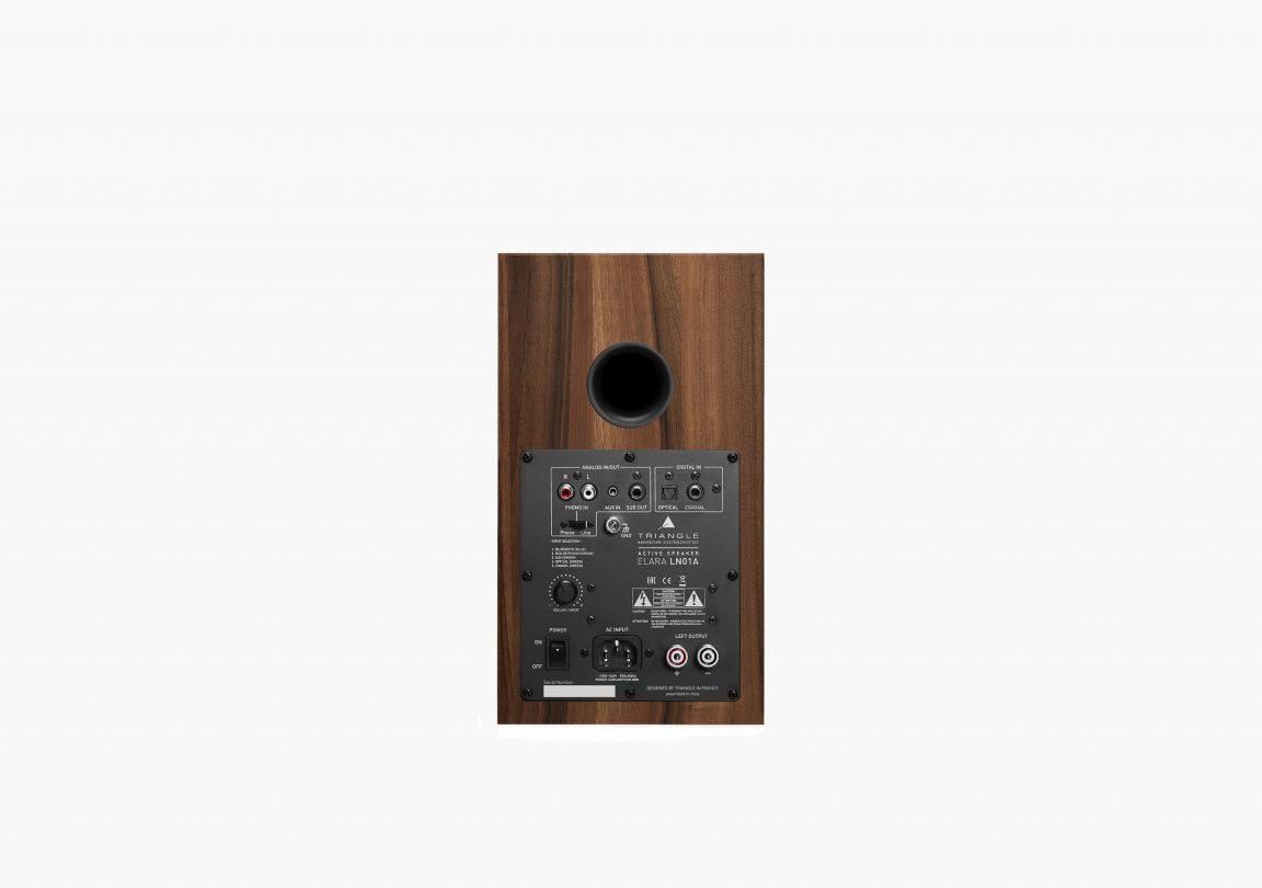 triangle active bluetooth speaker ln01A active series chestnut packshot 4