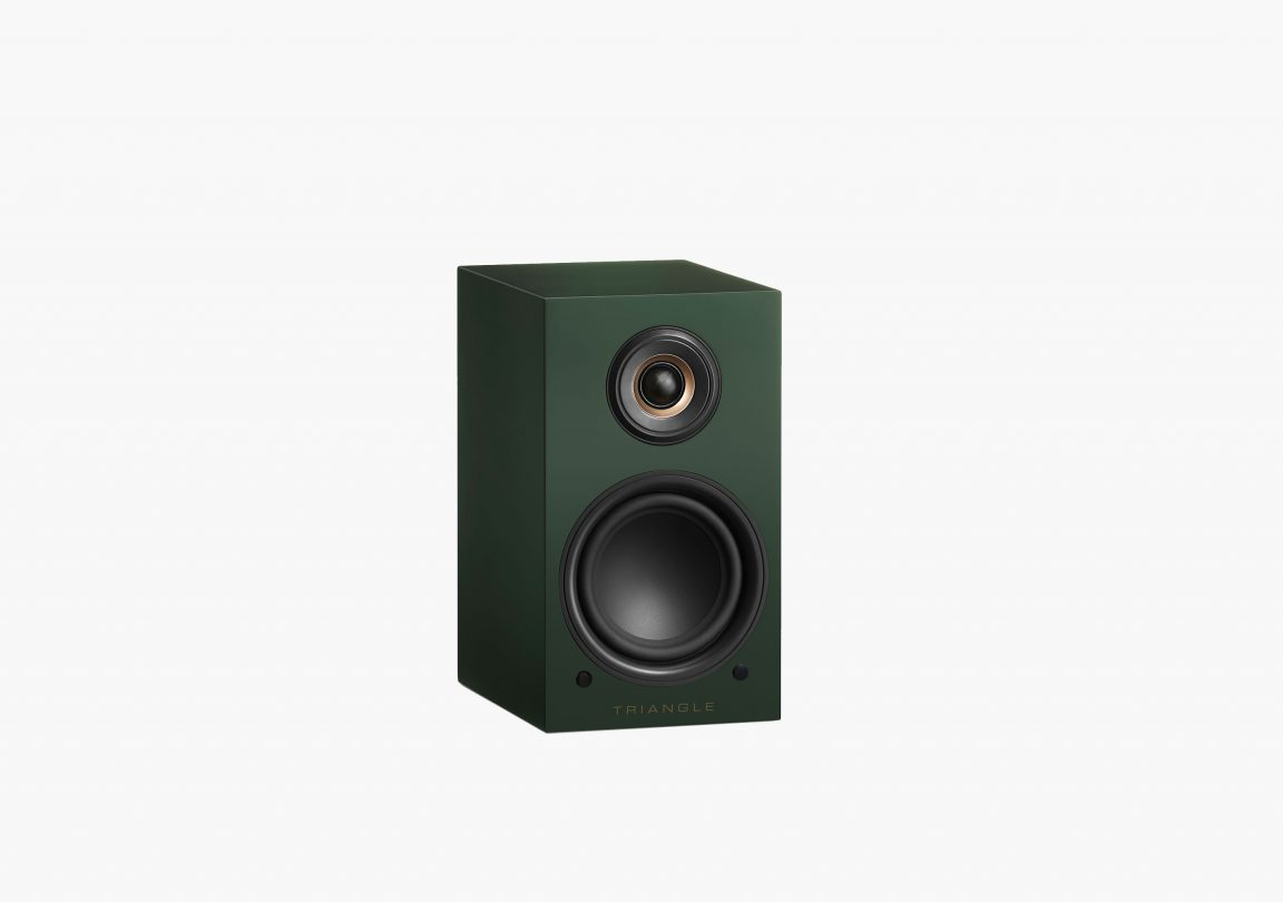 triangle active bluetooth speaker ln01A active series english green packshot 2
