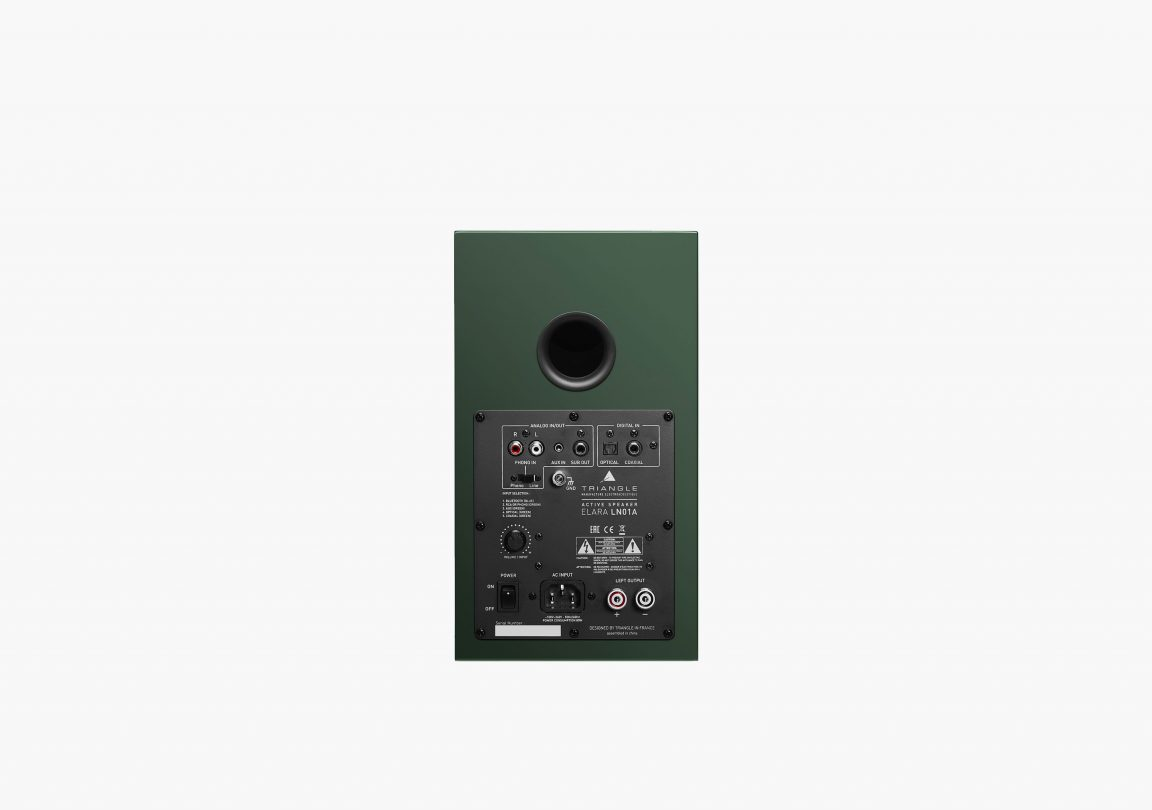 triangle active bluetooth speaker ln01A active series english green packshot 5