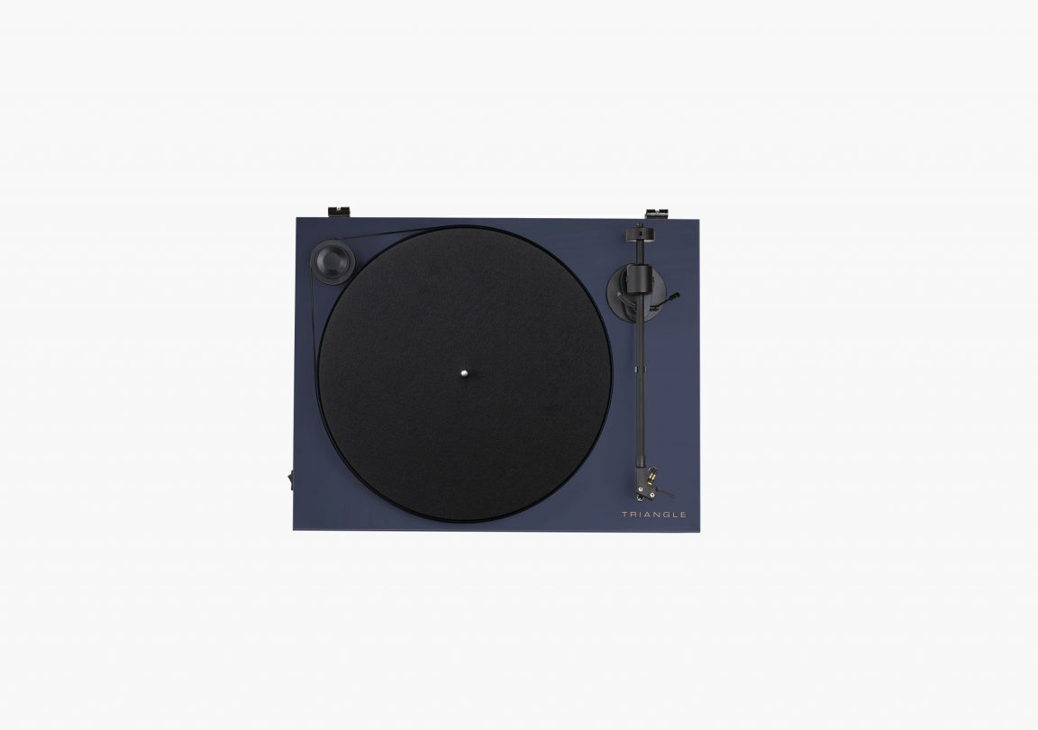 triangle turntable ln01A abyss blue packshot 2