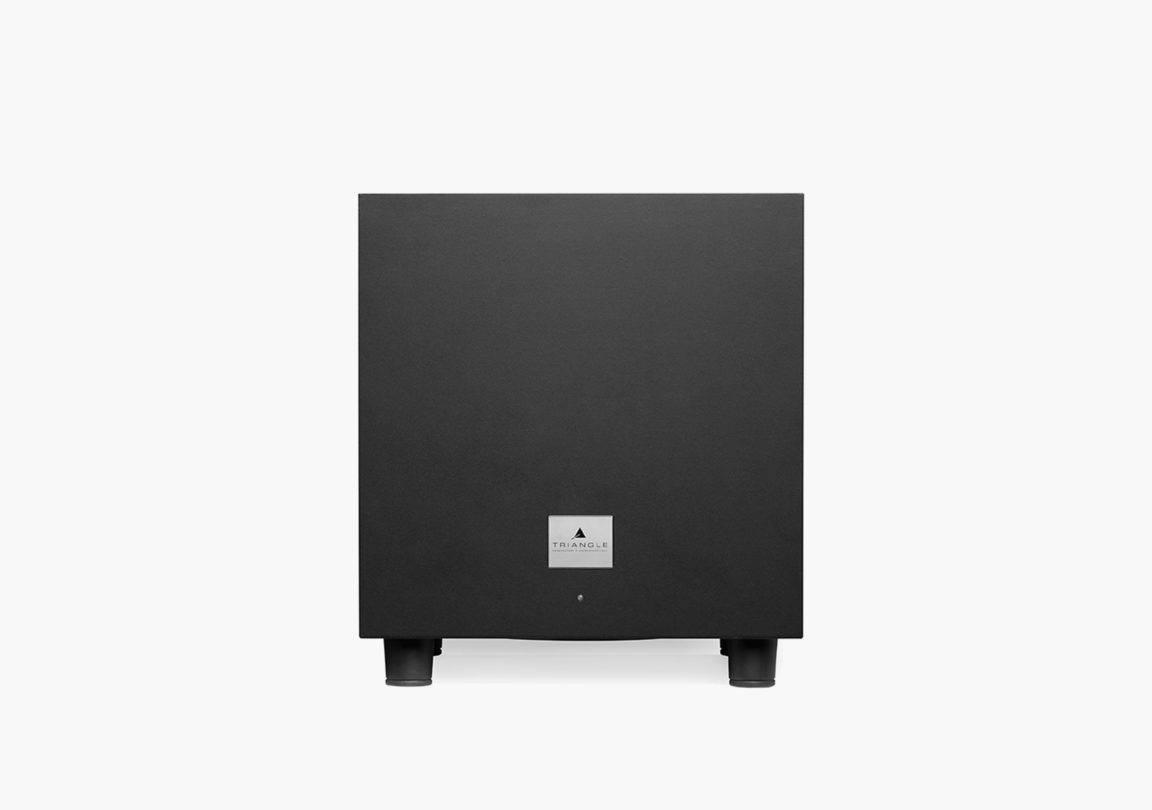caisson de basses hifi home cinéma triangle tales-340 noir packshot 01