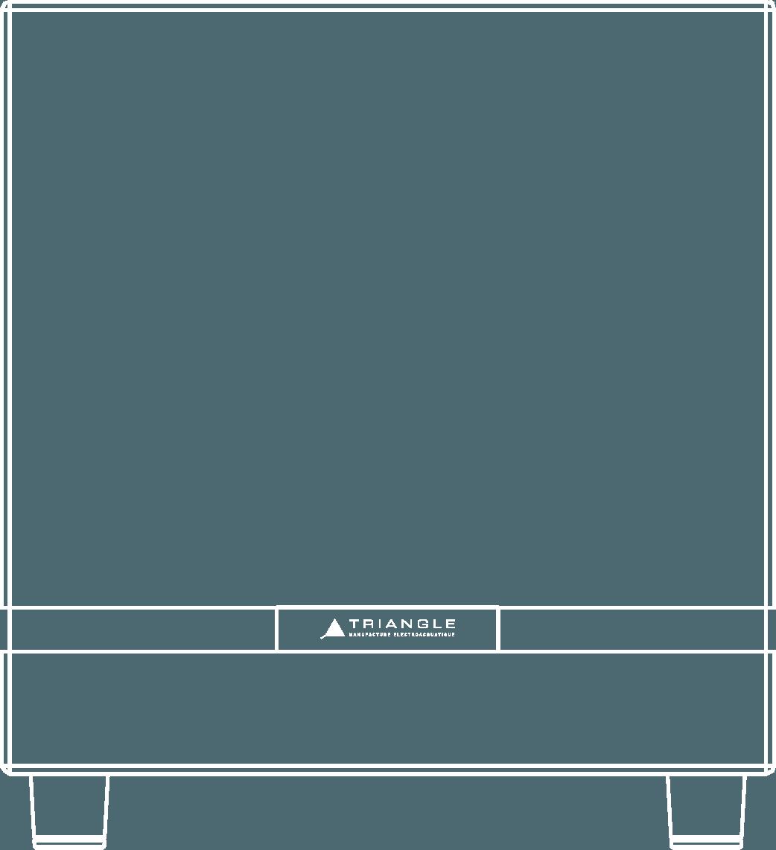 caisson de basses hifi triangle thetis380 vector