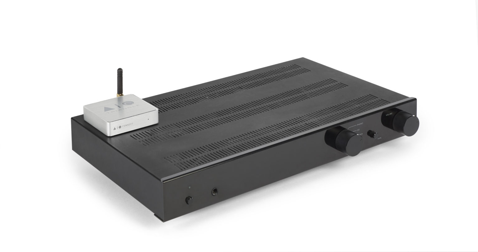 Système Enceinte connectée bluetooth wifi hifi triangle AIOC packshot 08