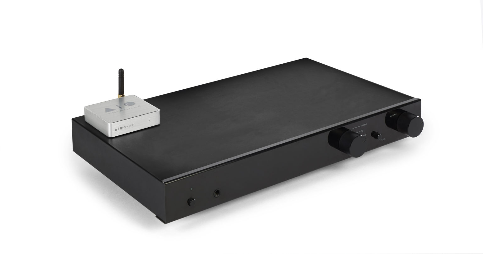 Système Enceinte connectée bluetooth wifi hifi triangle AIOC packshot 07