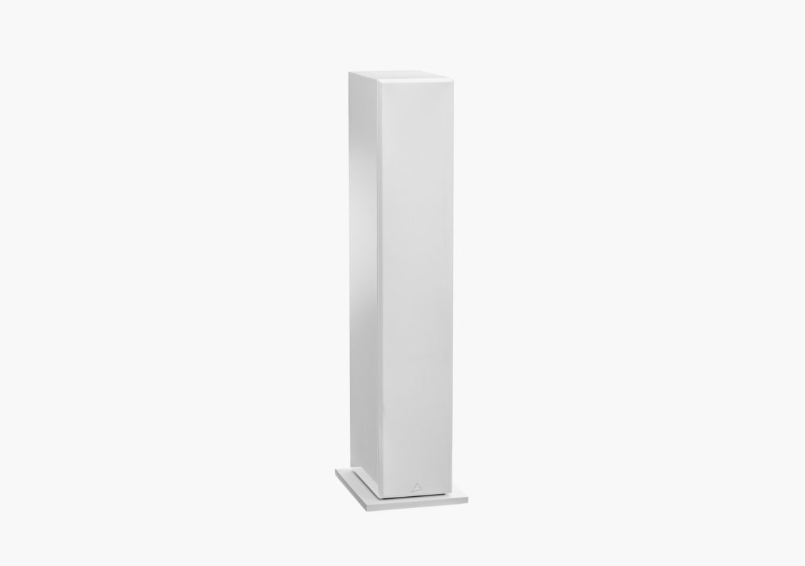Enceinte hifi colonne triangle Elara LN05 blanc packshot 3