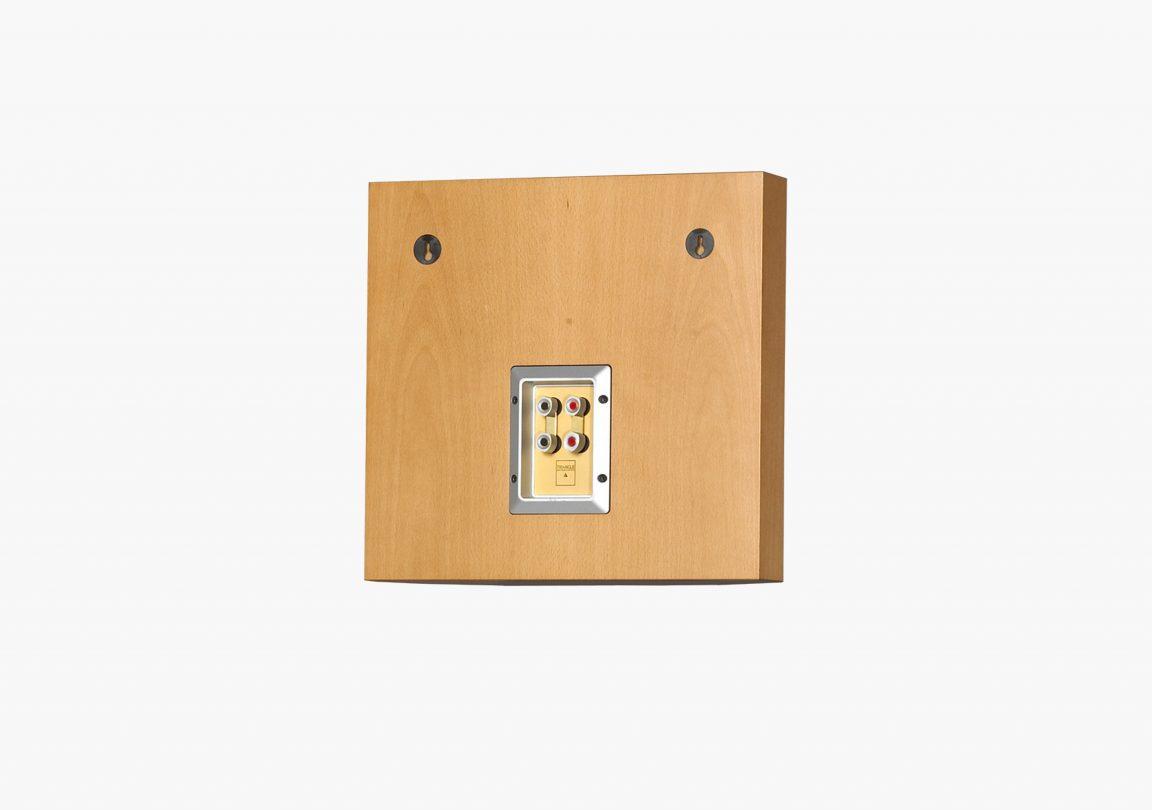 Enceinte hifi bibliothèque triangle Stratos Barea 206 Hêtre packshot 03