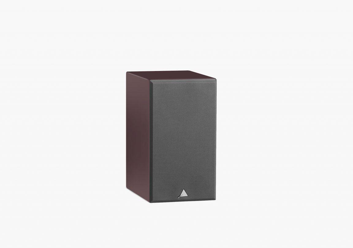 enceinte connectée hifi bibliothèque platine vinyle triangle active series ln01A aubergine packshot 03