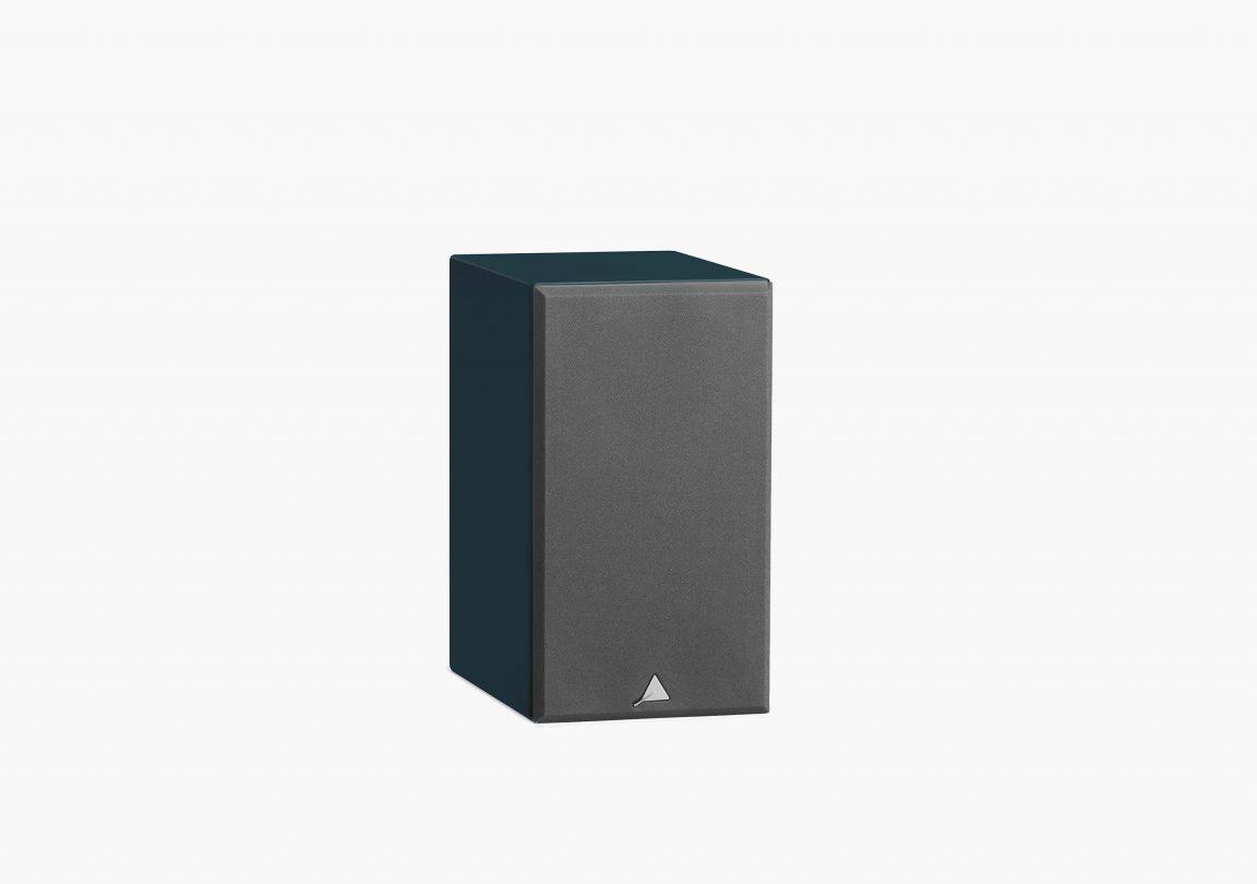 enceinte connectée hifi bibliothèque platine vinyle triangle active series ln01A bleu abysse packshot 04