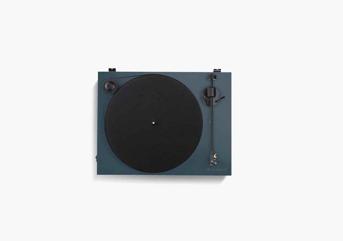 platine vinyle hifi triangle active series ln01A bleu abysse packshot 02