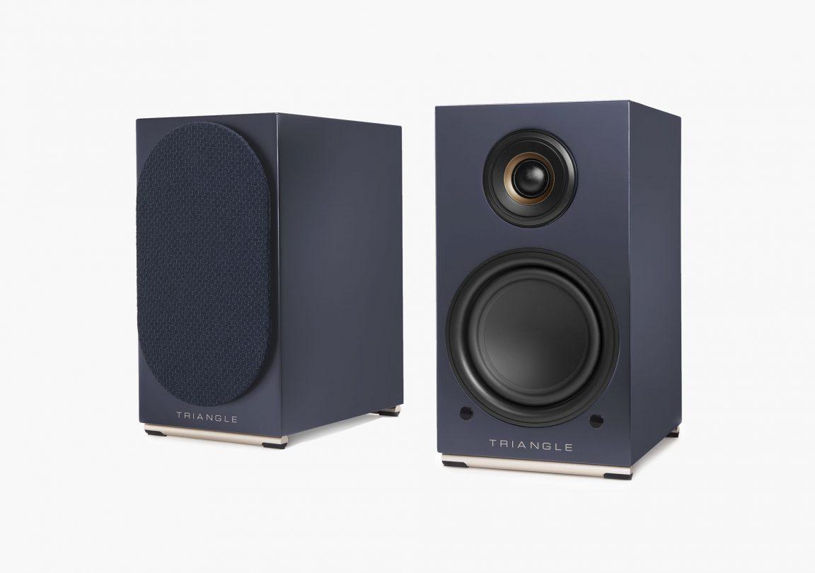 AIO TWIN speaker abyss blue triangle hifi