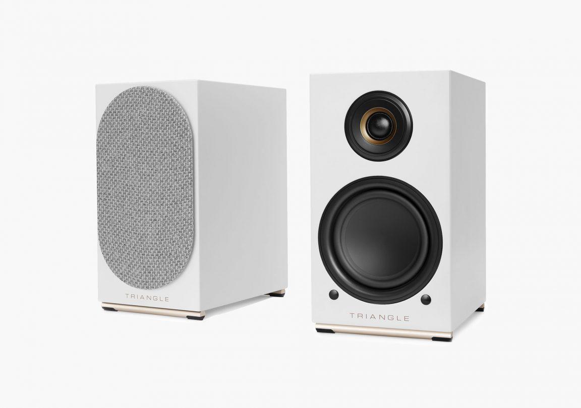 AIO TWIN speaker white triangle hifi